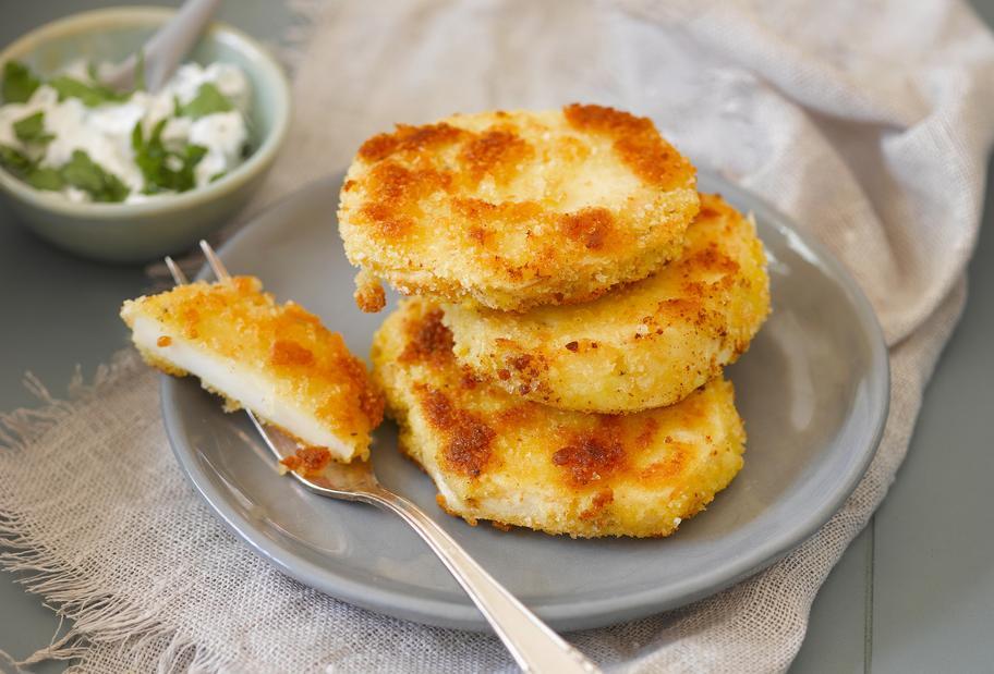 Für Veggie-Fans: Knusprige Sellerieschnitzel