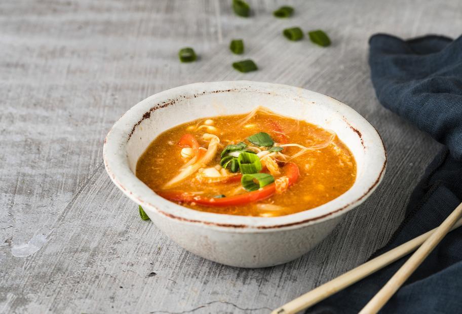 Vegetarische Pekingsuppe
