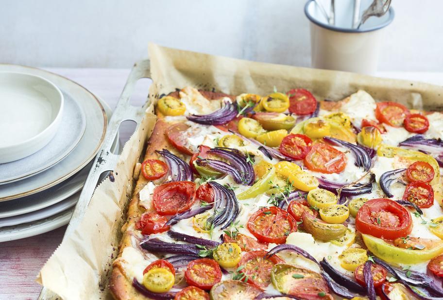 Krosser Tomatenkuchen