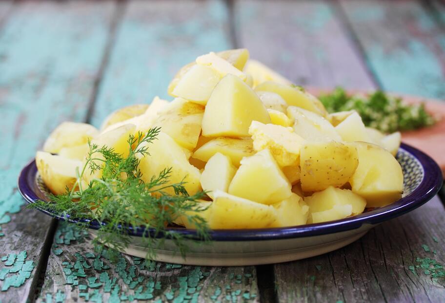 Kartoffeln garen