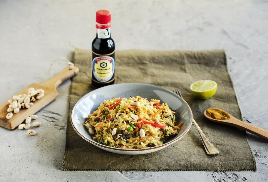 Asiatischer Reis mit Gemüse