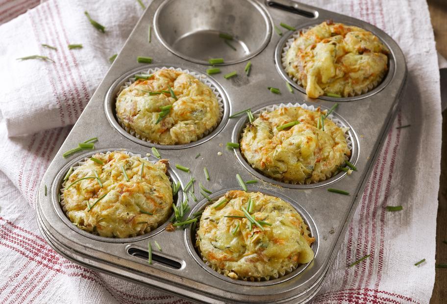 Gemüse-Muffins