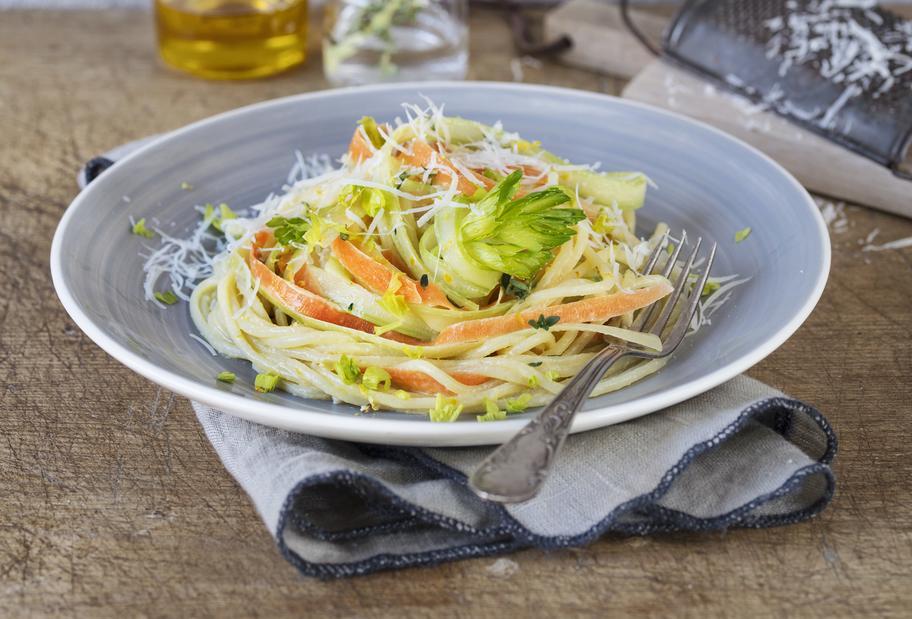 Leicht & lecker: Veggie-Spaghetti