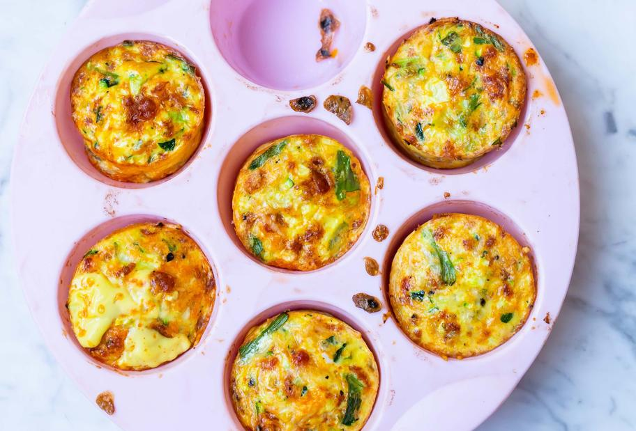 Low-Carb-Varoma-Muffins mit Chorizo