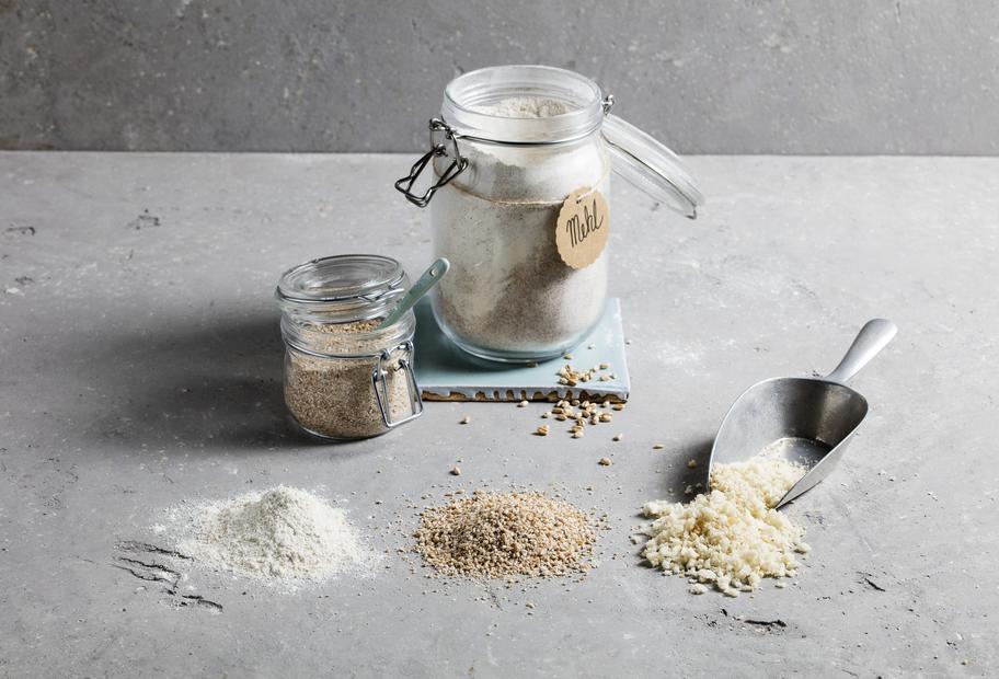 Mehl, Schrot und Paniermehl selbst machen