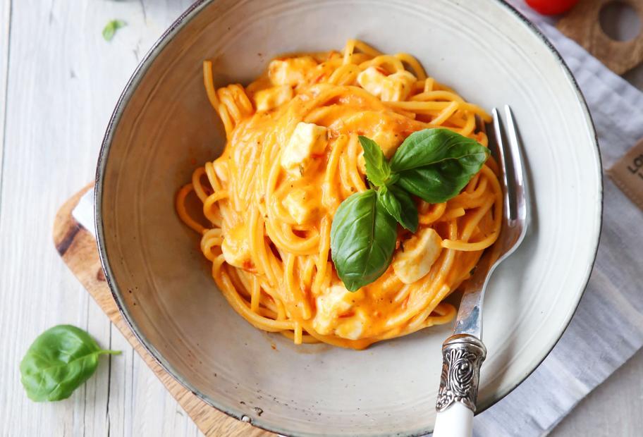 Spaghetti Tomate-Mozzarella