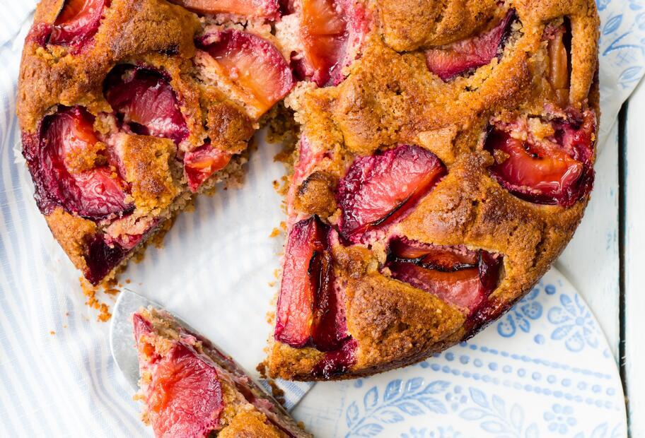 Saftig und lecker: Glutenfreier Pflaumenkuchen