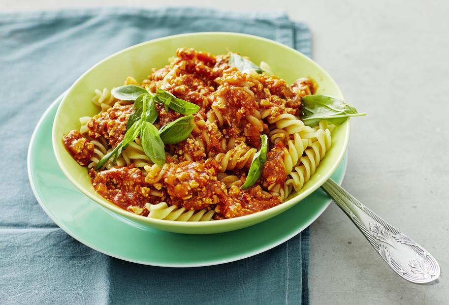 Vegan und so gut: Würzige Tofu-Bolognese