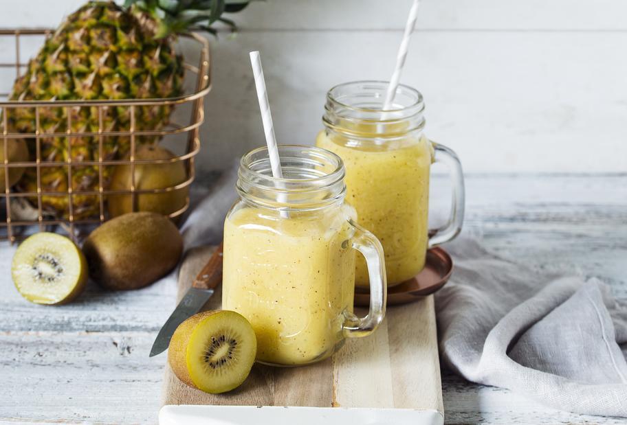 Ananas-Kiwi-Smoothie