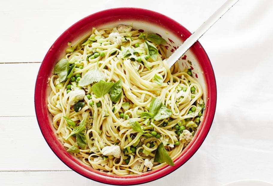 Hähnchen-Zucchini-Pasta