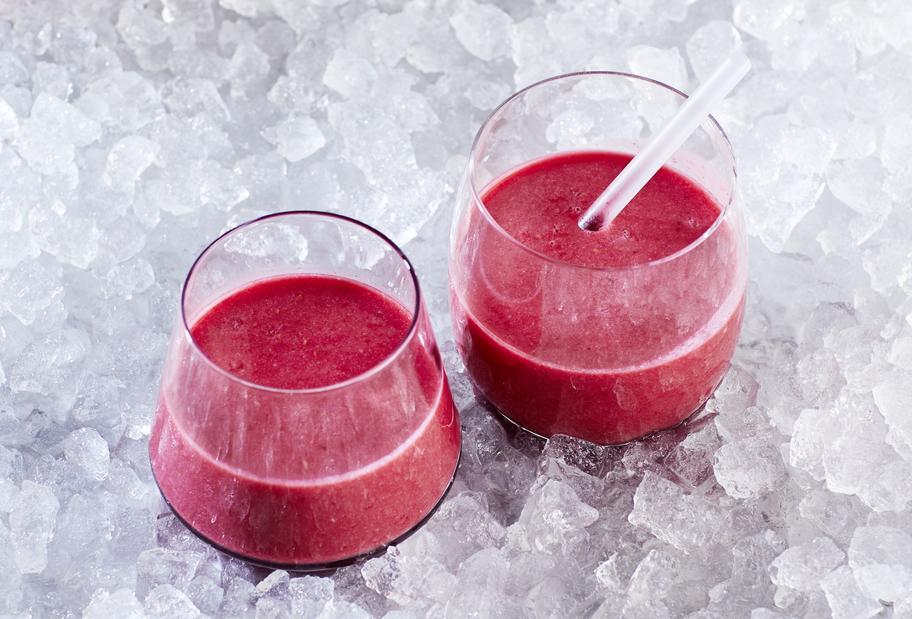 Himbeer-Hafermilch-Drink