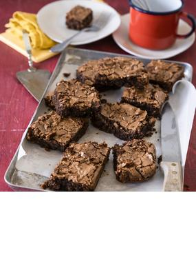 Saftige Brownies mit Walnüssen
