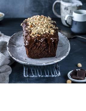 Nussiger Schokoladenkuchen