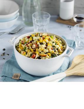 Ratz-Fatz-Blumenkohlsalat für deine Grillparty