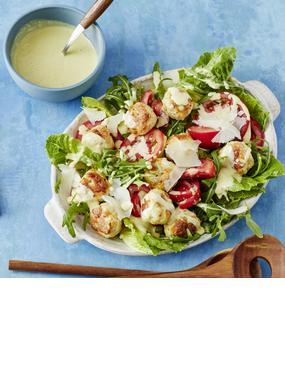 Caesar-Salad mit Hühnchen