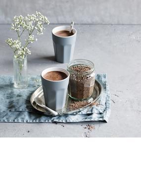 Trinkschokoladen-Pulver