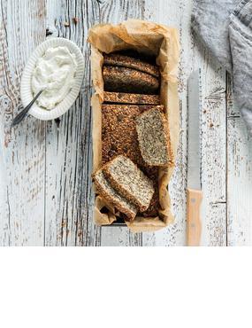 Low Carb Brot mit Quark