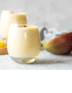 Mango-Buttermilch-Drink