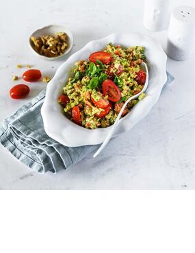 Der beste Brokkolisalat mit Feta und Walnüssen