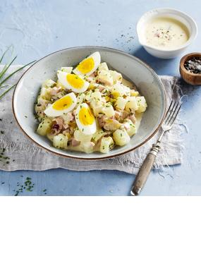 """""""Kartoffelsalat"""" aus Kohlrabi"""