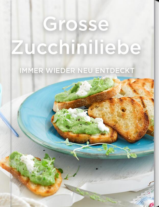 Große Zucchini-Liebe