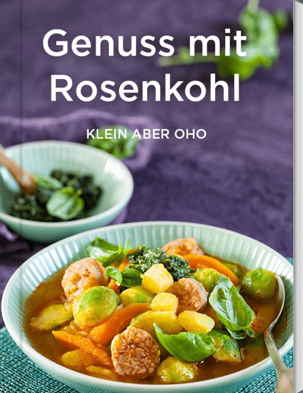 Genuss mit Rosenkohl